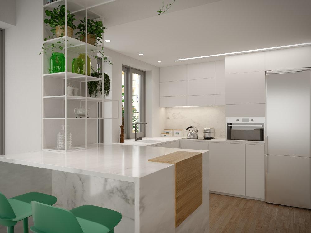 σχεδιασμός εσωτερικού χώρου, διαμέρισμα στο Κουκάκι