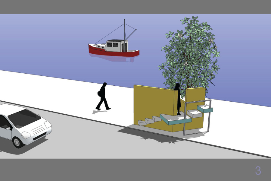 Διαμόρφωση πεζοδρόμου στην Οδό Θουκυδίδη, Σαλαμίνα Ανάθεση: Δήμος Σαλαμίνας