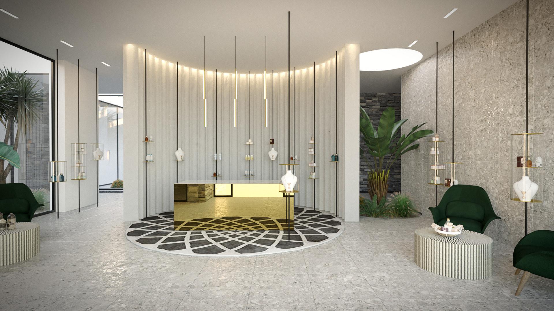 Σχεδιασμός εσωτερικού χώρου Spa Center στην Κω